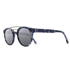 Joe's Jeans Matte Tortoise Brow Bar Sunglasses NWT